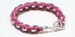 Janis - Armband pink/bordeaux