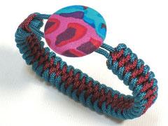 Armband - Janis, doppelter Schlangenknoten