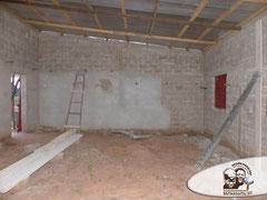 ultima fase de construcción primer aula
