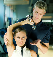 Personal Trainer in Aktion!