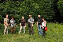 Landesfachausschuss Botanik Foto: Margenburg