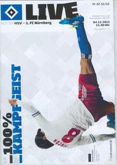 Nr.7 04.12.2011 HSV-1.FC Nürnberg