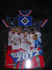HSV-Trikot-Kalender 2012(neu am 24.12.2011)
