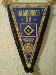 Mein erster HSV-Wimpel von 1982