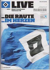 Nr.14 08.04.2012 & 14.04.2012 HSV-Leverkusen & HSV Hannover