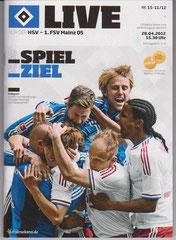 Nr.15 28.04.2012:HSV-Mainz