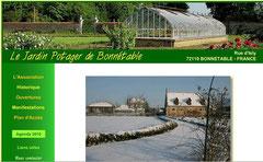 site du Jardin Potager à Bonnétable