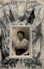 Marthe Taureau, veuve de guerre (1er mariage)