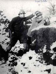 Auguste Roulette dans les tranchées de Verdun