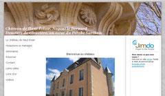 site du château de Haut Eclair à Nogent le Bernard
