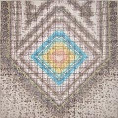 SeelenStift-Herz-Pointillismus-Marker a. Fotokarton 68 cm x 68 cm