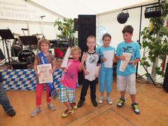 Sieger und Platzierte des Pusterohrschießens 2012