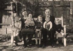 Familie Franz im Park