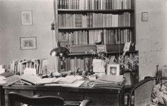 Büro von Pfarrer Franz