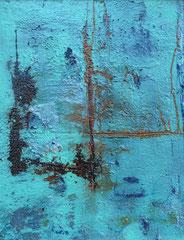 Robin 40 x 50 cm mit Rahmen