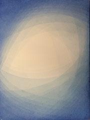 Blauer Raum. 2014, 30 x 40 cm, 125 Euro