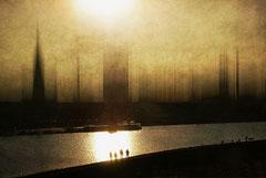 Hoffnung - nur noch über den großen Teich / Phoenixsee Dortmund