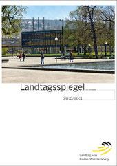 Titel Landtagsspiegel 2010/2011