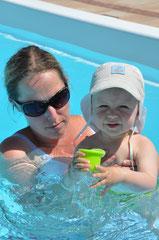 Spaß imSwimmingpool