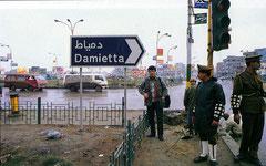 Nil Deltasındaki Dimyat'ta (1992 – Mısır)