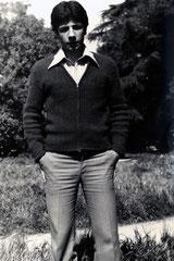 Üniversite 1. Sınıfta fakülte bahçesinde (1978)