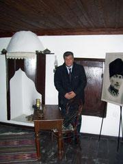 Bigalı köyünde Atatürk'ün 1915'te kullandığı karargah evde (2007 – Çanakkale)
