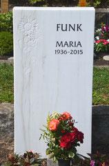 Material: Carrara-Marmor, Herkunft: Italien, Bearbeitungsort: Deutschland
