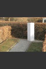 Material: Tittlinger-Grobkorn-Granit, Herkunft: Deutschland, Bearbeitungsort: Deutschland