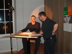 Verhörszene mit Ulrich Heinz und Martin Ehmann