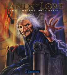 Lands of Lore: The Throne of Chaos (DOS) (USA) (Front)