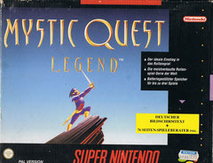 Mystic Quest Legend (Front)