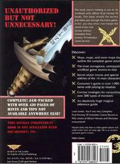 Complete Final Fantasy III Forbidden Game Secrets (Back)