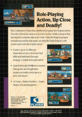 Shining Force (USA) (Back)