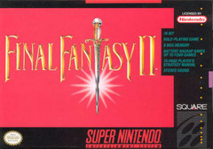 Final Fantasy II (USA) (Front)