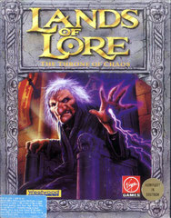 Lands of Lore: The Throne of Chaos (Deutschland) (Front)