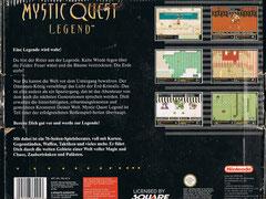 Mystic Quest Legend (Back)