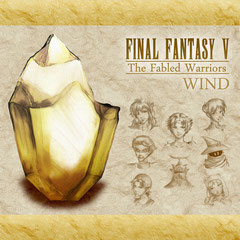 The Fabled Warriors - CD1: Wind (Front)