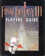 Final Fantasy III Players Guide (Front)