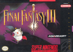 Final Fantasy III USA (Front)