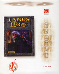 Lands of Lore: The Throne of Chaos (White Label) (Deutschland) (Front)