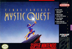 Final Fantasy: Mystic Quest (Front)