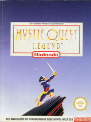 Mystic Quest Legend offizeller Spieleberater (Front)