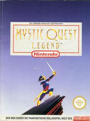 Mystic Quest Legend offizeller Spieleberater (Front)