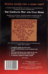 Lands of Lore: The Throne of Chaos - Clue Book (Back)