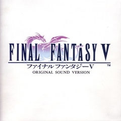 Final Fantasy V Original Sound Version (Front)