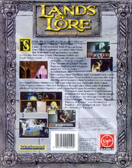 Lands of Lore: The Throne of Chaos (Deutschland) (Back)