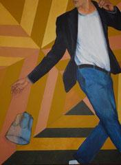 """""""Gabriel"""", 2010, 97x130, acrylique sur toile ©"""