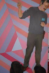"""""""Jésus enseignant"""", 2010, 91x146, acrylique sur toile ©"""