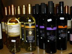 Solombra Torrontes, Weißwein aus Argentinien - Lautaro Merlot und Lautaro Carmenere, Bio Rotwein aus Chile