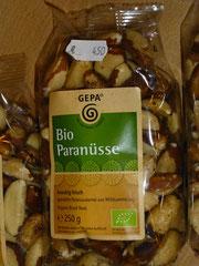 Bio Paranüsse aus Wildsammlung, naturbelassen, Bolivien